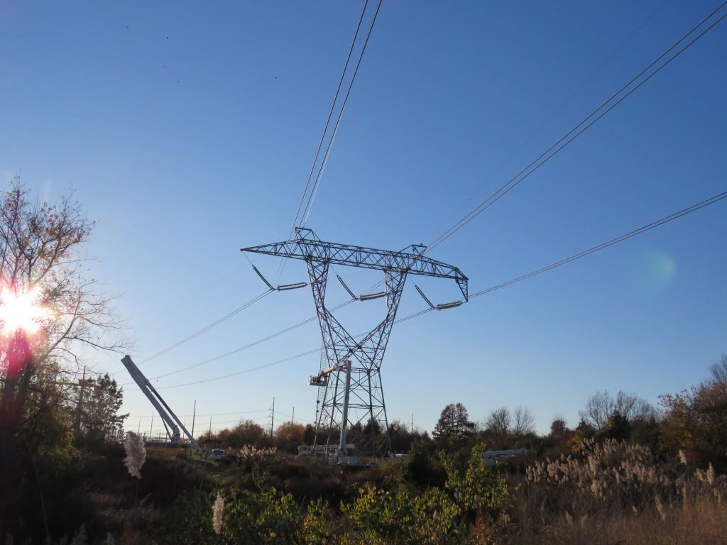 500kv Crossing Aui Power